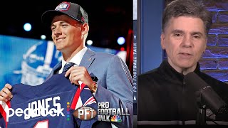 Tom Curran surprised Mac Jones was available for Patriots | Pro Football Talk | NBC Sports