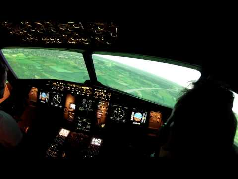 A320 Type Rating Visual Approach Simulator