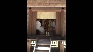 神麻続機殿神社 荒妙 の奉職風景