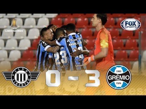 PASSEIO DO IMORTAL NA LIBERTADORES! Veja os melhores momentos de Libertad 0 x 3 Grêmio