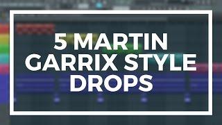 5 FREE MARTIN GARRIX STYLE PROGRESSIVE HOUSE DROPS IN FL STUDIO 12 (+FLP)