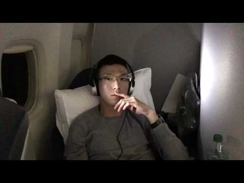 Delta Airlines Business Class ( Delta One ) on B777-200LR Los Angeles to Sydney DL41
