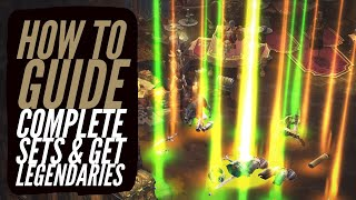 Diablo 3 - How To Complete Sets & Get Legendaries