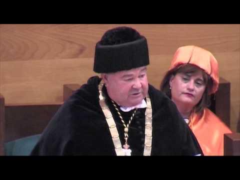 Inauguracion de curso 2014-15. Discurso rector Gómez Sal