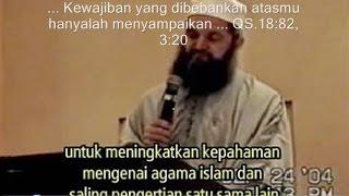 ! KISAH NYATA: Mantan Pengkhotbah Kristen Baptis Amerika Memeluk Islam - www.islamterbuktibenar.net
