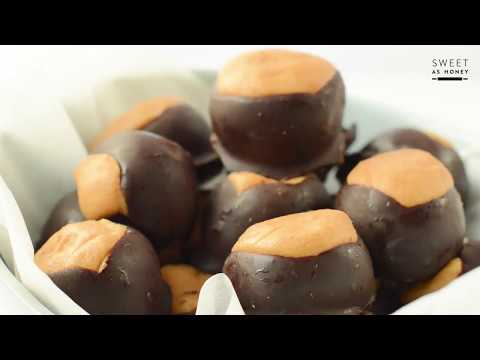 No Bake Peanut Butter Balls Keto Buckeyes