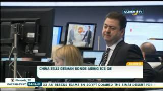 China sells german bonds aiding ECB QE - Kazakh TV