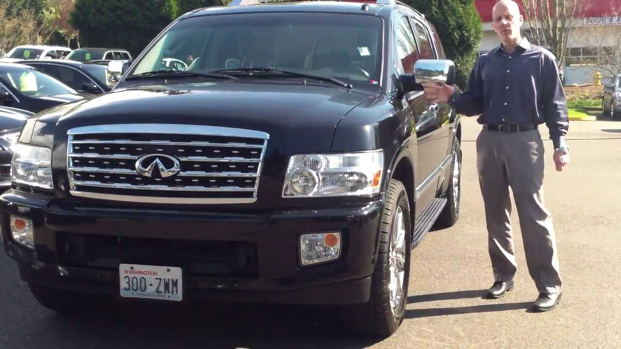 2010 infiniti qx56 4wd review the easiest to drive big suv there is youtube