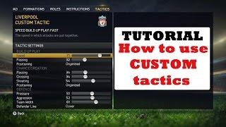 FIFA 15 TUTORIAL / Как использовать кастомную тактику / How to use custom tactic(монеты FIFA 15 - http://goo.gl/VhNcTA монеты FIFA 14 - http://goo.gl/eBaZ1n [Русский язык] Как использовать кастомную тактику [English..., 2014-10-03T16:05:46.000Z)
