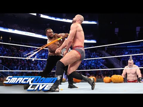 Big E vs. Cesaro - Trick or Street Fight: SmackDown LIVE, Oct. 30, 2018