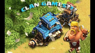 Clash of Clans CHRISTMAS UPDATE SNEAK PEEK #1 - CLAN GAMES?!?!?