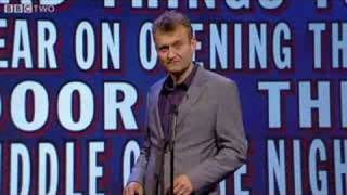 Scenes We'd Like to See: Bad Things to Hear on Opening the Door in the Middle of the Night - Mock the Week - BBC Two