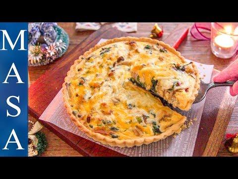 雞肉&菠菜法式鹹派Chicken & Spinach Quiche |MASAの料理 ...