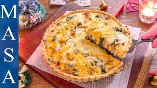 雞肉&菠菜法式鹹派/Chicken & Spinach Quiche |MASAの料理ABC
