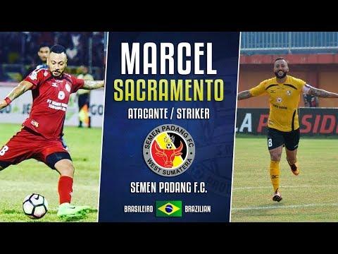 Marcel Sacramento - Atacante / Striker - Semen Padang
