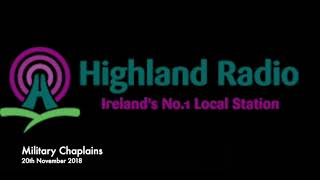 Highland Radio discussed the Atheist Ireland FoI about Military Chaplains