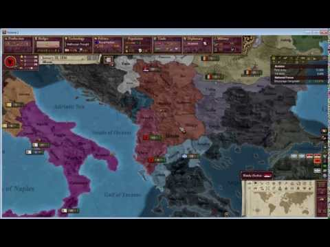 Victoria 2 Multiplayer - WWI Mod Testing - Albania!