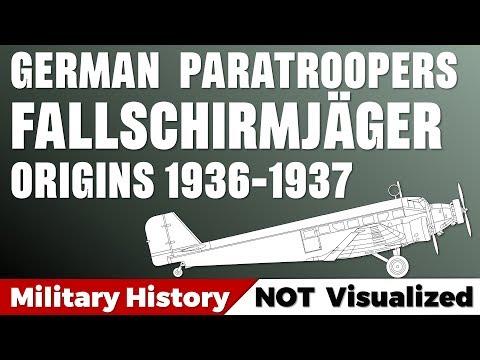 german-paratroopers:-fallschirmjäger---origins-1936-1937
