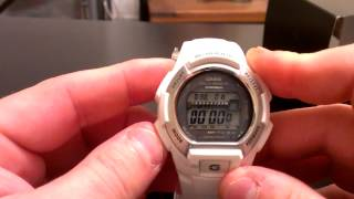 Casio G-Shock GWM850-7 Watch Review - White Multi Band 6 Atomic Solar