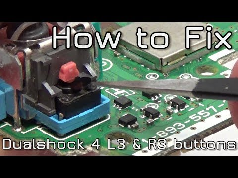 How to fix Dualshock 4 L3 & R3 buttons & SPRINTING