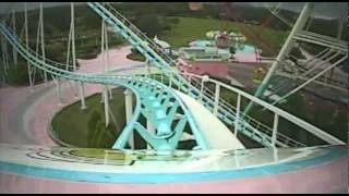 Jet Coaster Super Dolphin Roller Coaster Front Seat POV Onride Uminonakamichi Japan