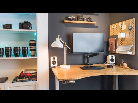Home Office And Dream Desk Tour — A Photographer's Workspace