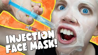 INJECTION FACE MASK!
