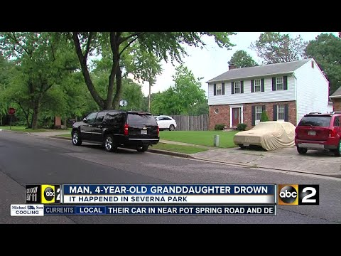 Child, grandfather drown in Severna Park Thursday