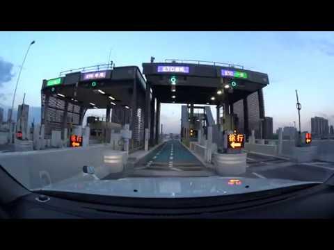 Tokyo expressway night drive 4K 首都高 晴海 2018