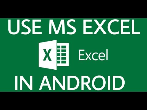 How To Use MS Excel In Your Android Phone | How To Install MS Excel In Your Android