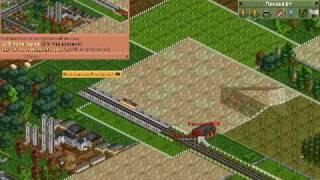 OpenTTD tutorial Видеоурок как и с чего начать