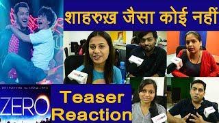Zero Teaser Reaction: Shahrukh Khan | Salman Khan | Katrina Kaif | Anushka Sharma | FilmiBeat