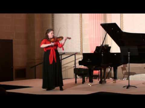 Carla Leurs Live at The Trust Violin Partita No.2 in D minor