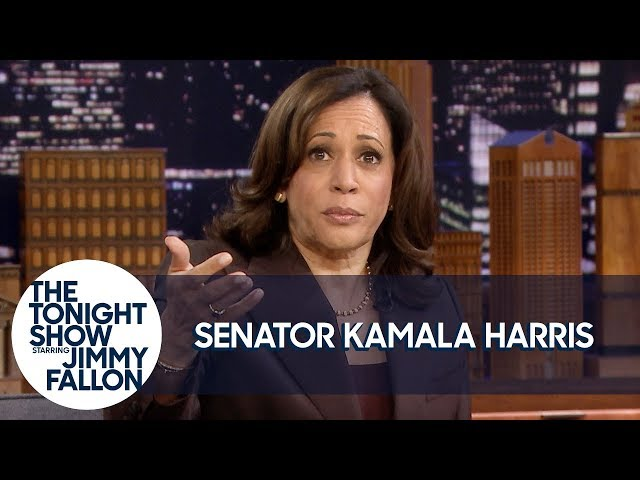 Sen. Kamala Harris Takes Questions from College Students in the Tonight Show Audience