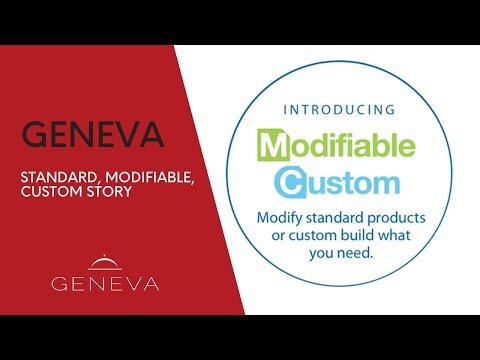 Geneva - Standard, Modifiable, Custom Story