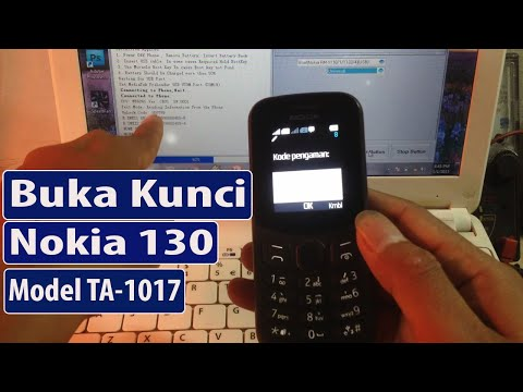 Nokia 105 New RM-1134 Lupa Kode Keamanan Tested.