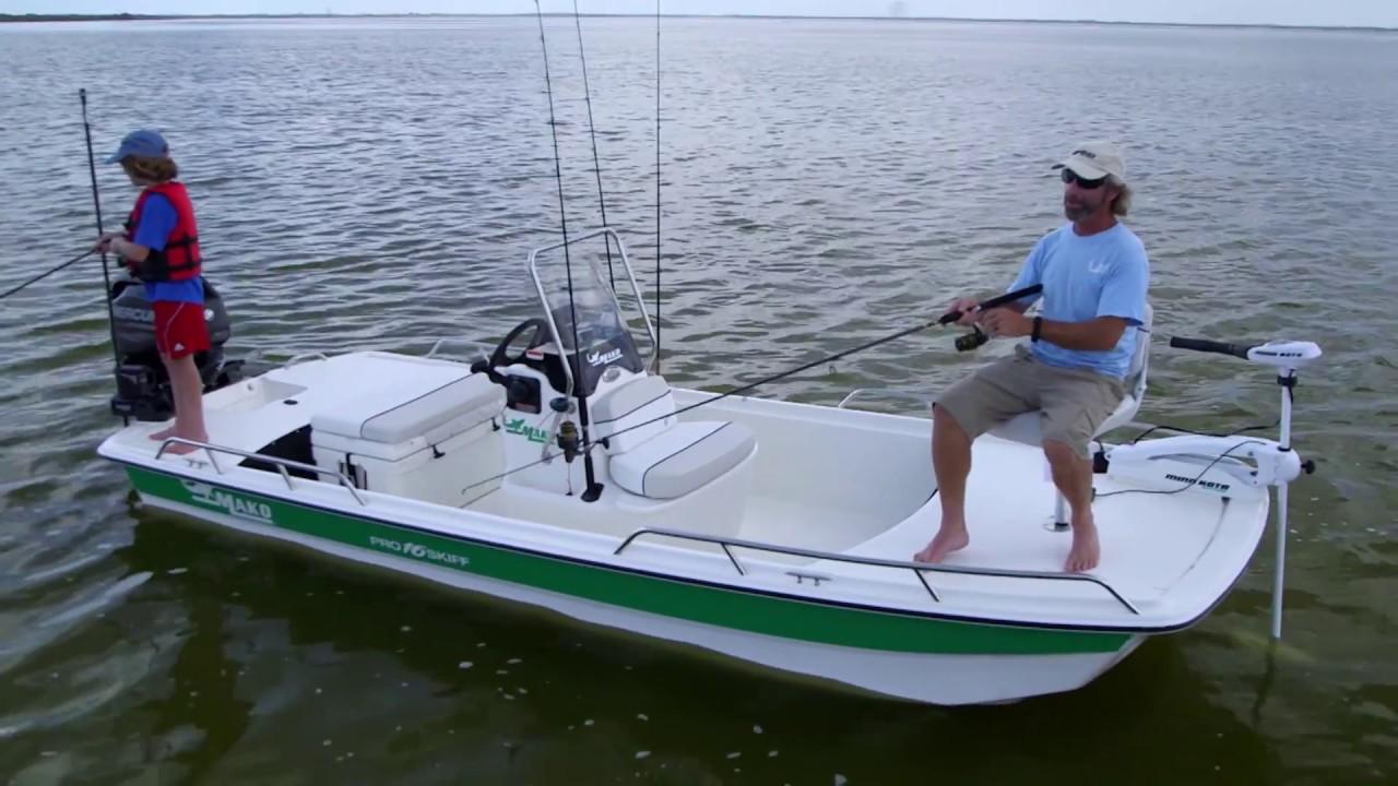 medium resolution of mako boats pro skiff 16 cc inshore fishing boat youtube rh youtube com triumph wiring diagrams