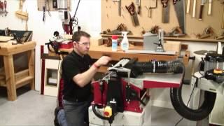 Axminster Hobby Series Awept106 Planer Thicknesser