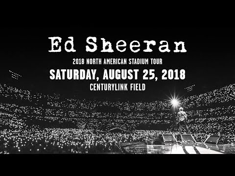 Ed Sheeran    Live in Concert    Seattle    2018