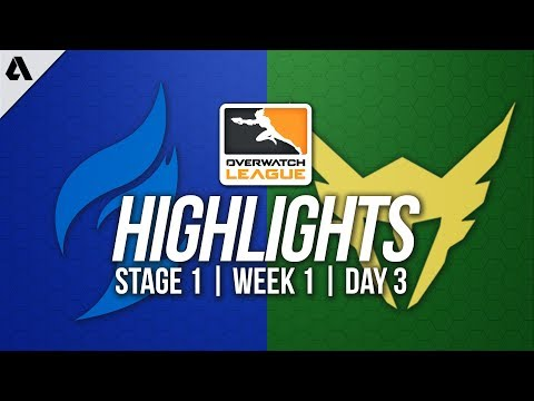 Dallas Fuel VS Los Angeles Valiant ft SoOn Seagull | Overwatch League Highlights OWL Week 1 Day 3