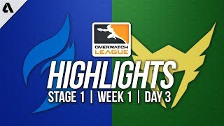 Dallas Fuel vs Los Angeles Valiant | Overwatch League Highlights OWL Stage 1 Week 1 Day 3