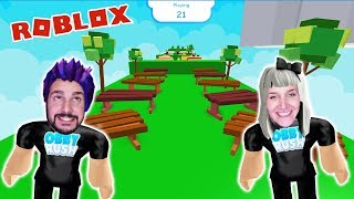Roblox: OBBY RUSH - Nina & Kaan VS teammates - WHO MAKES THE OBBY FAST? Roblox Race