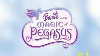 Прохождение игры Барби - Магический пегас часть 1