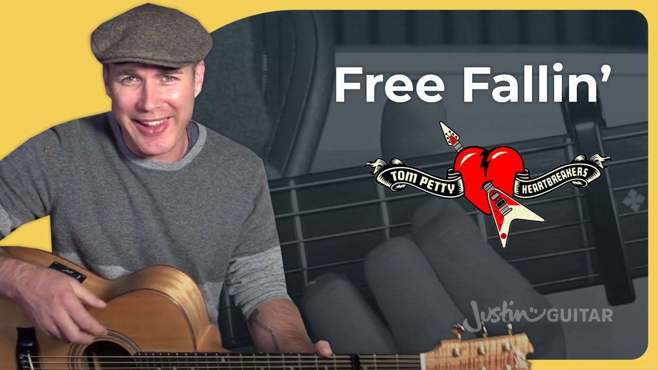 How to play Free Falling by Tom Petty Guitar Lesson ...
