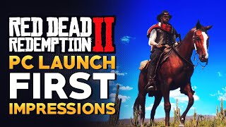 Red Dead Redemption 2 PC First Impressions - Is It Actually Good?