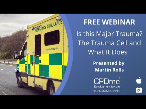 Is this major trauma? The trauma cell and what it does - Martin Rolls