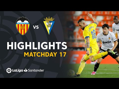 Valencia Cadiz Goals And Highlights