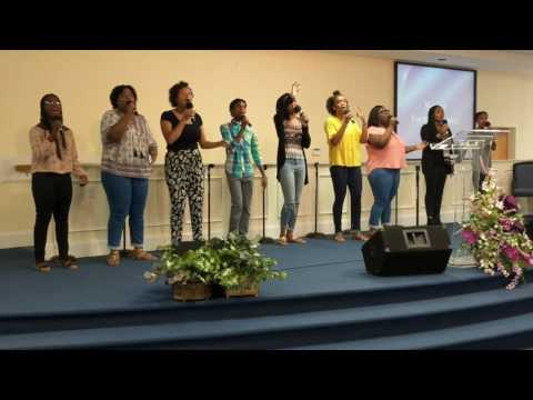 Young Adult Praise Team Father's Day Service 2017!