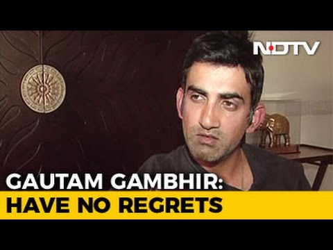 I Fought For Young Players: Gautam Gambhir