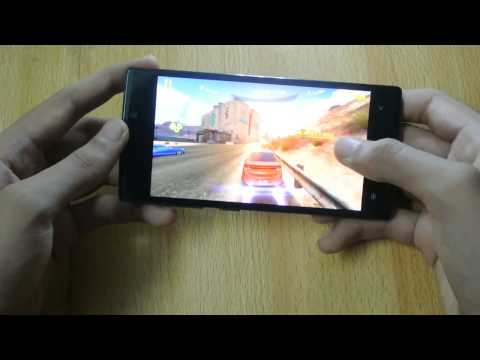 Qmobile Noir Z6/Gionee Elife S5.5 Asphalt 8 Gaming Test